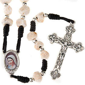 Medjugorje rosaries: Medjugorje stone rosary ground