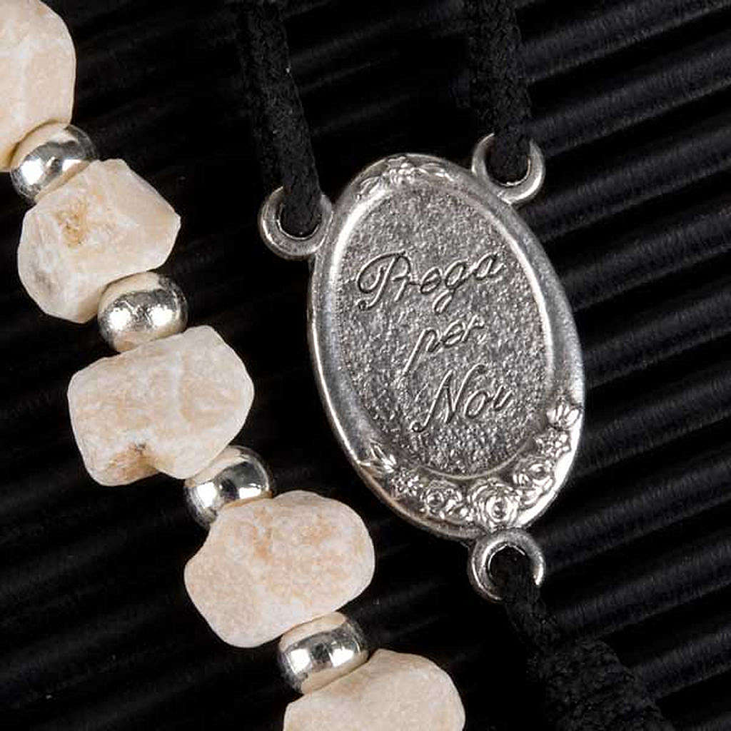 Rosario Medjugorje piedra y perlitas 4