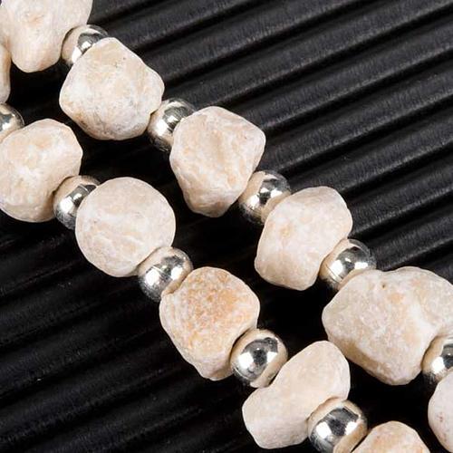 Rosario Medjugorje piedra y perlitas 6