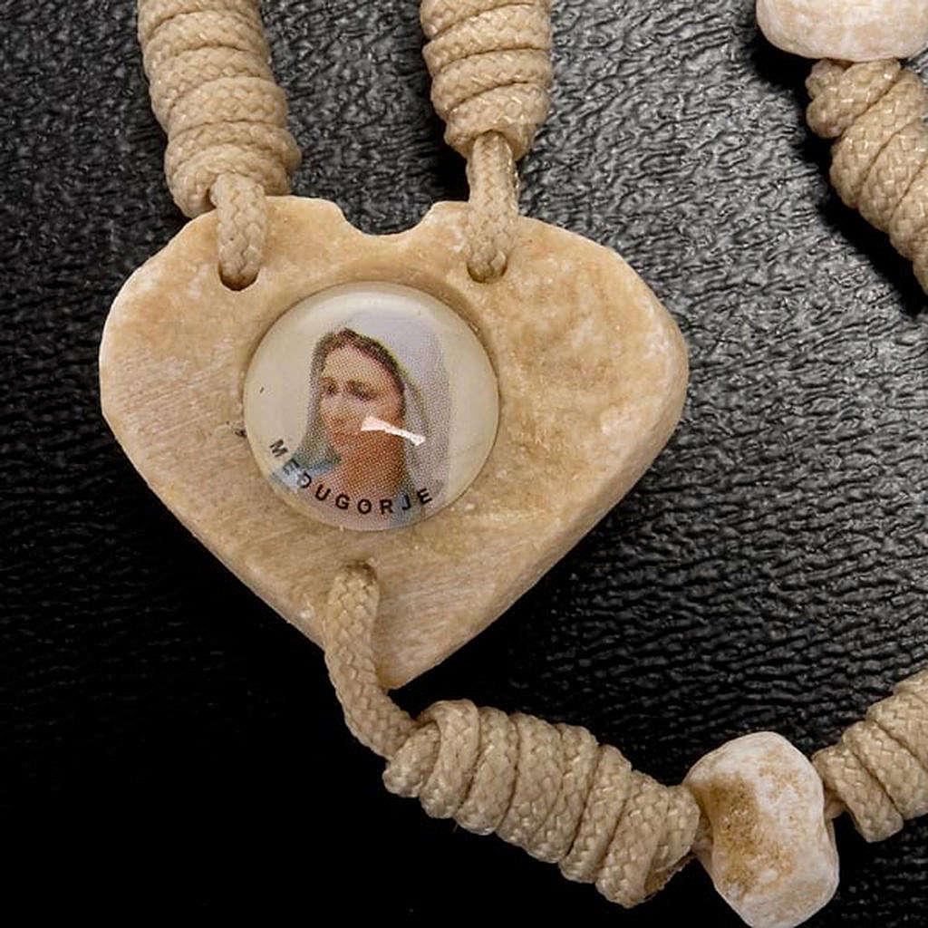 Rosario Medjugorje cuore 4