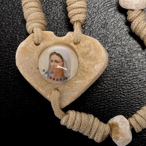 Rosario Medjugorje cuore 3