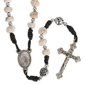 Medjugorje stone rosary  string s1