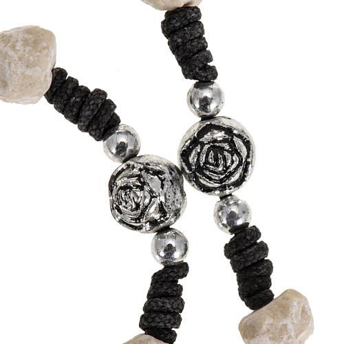 Medjugorje stone rosary  string 2