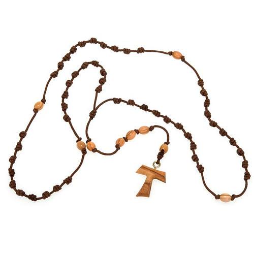 Tau string rosary 3