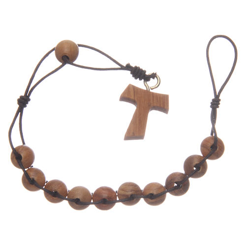 Ten-bead Tau rosary, double binding 2
