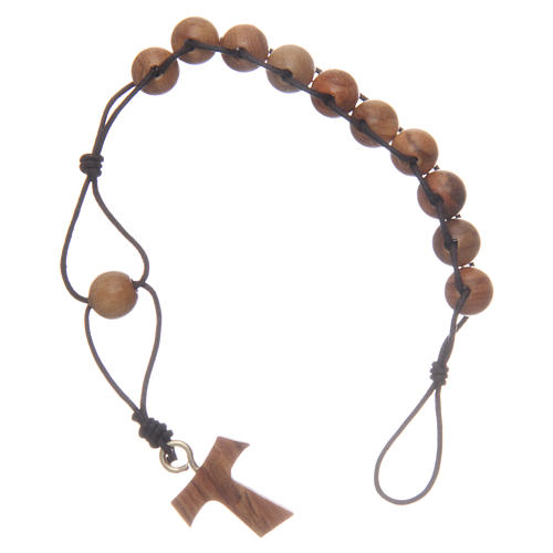 Ten-bead Tau rosary, double binding 1