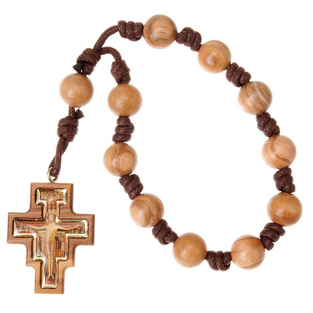 Chapelet, dix grains, croix S.Damien 4