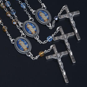 Decade glass beads rosary, Our Lady s2