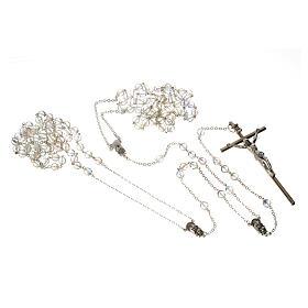 Wedding rosaries, crystal-like brads 8mm s3
