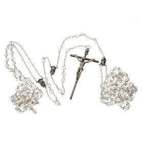 Wedding rosaries, crystal-like brads 8mm s5