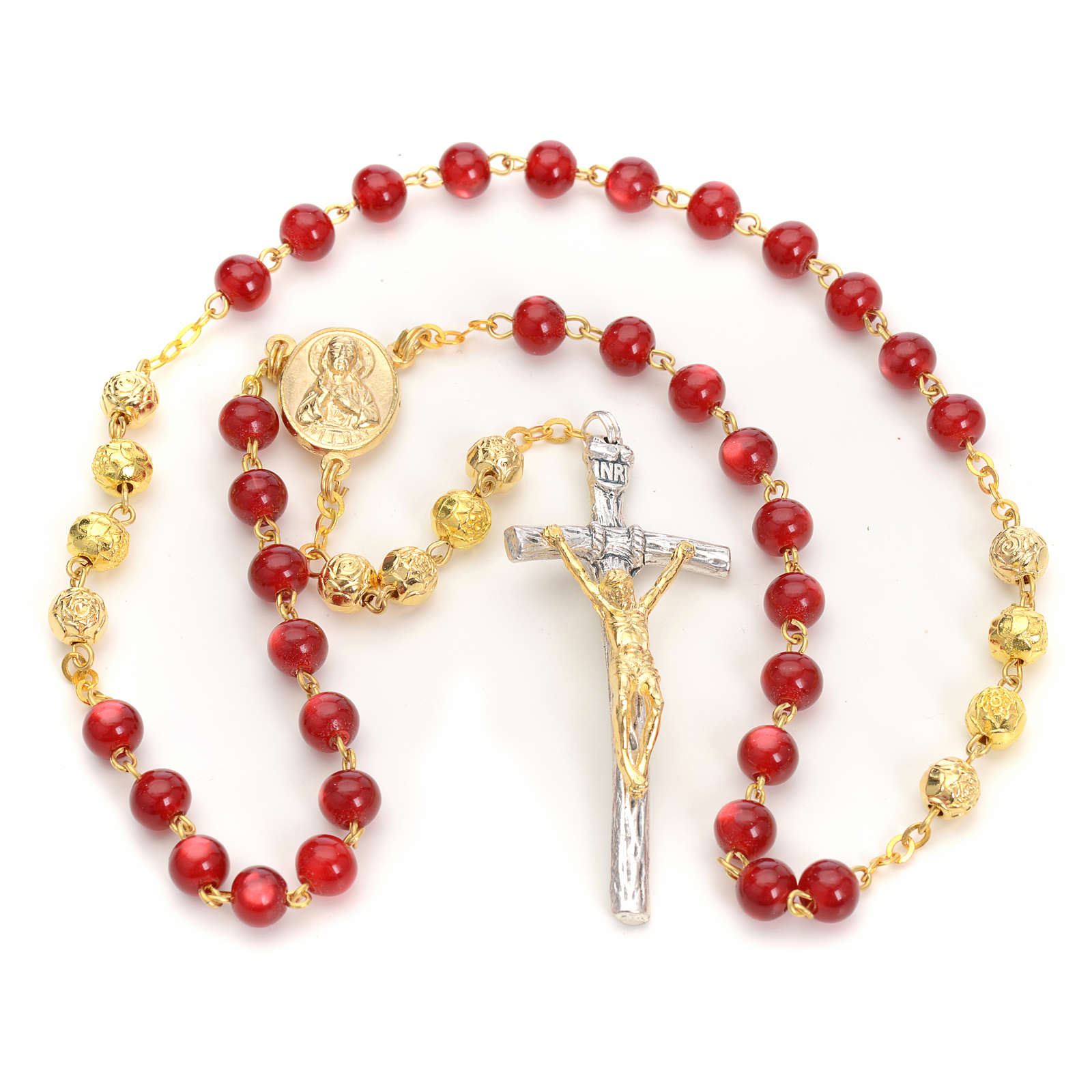 Terço devocional Coroa almas Sacerdotes mortos 4