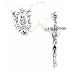 Trisagio Idente imitação pérola imagem Maria s3