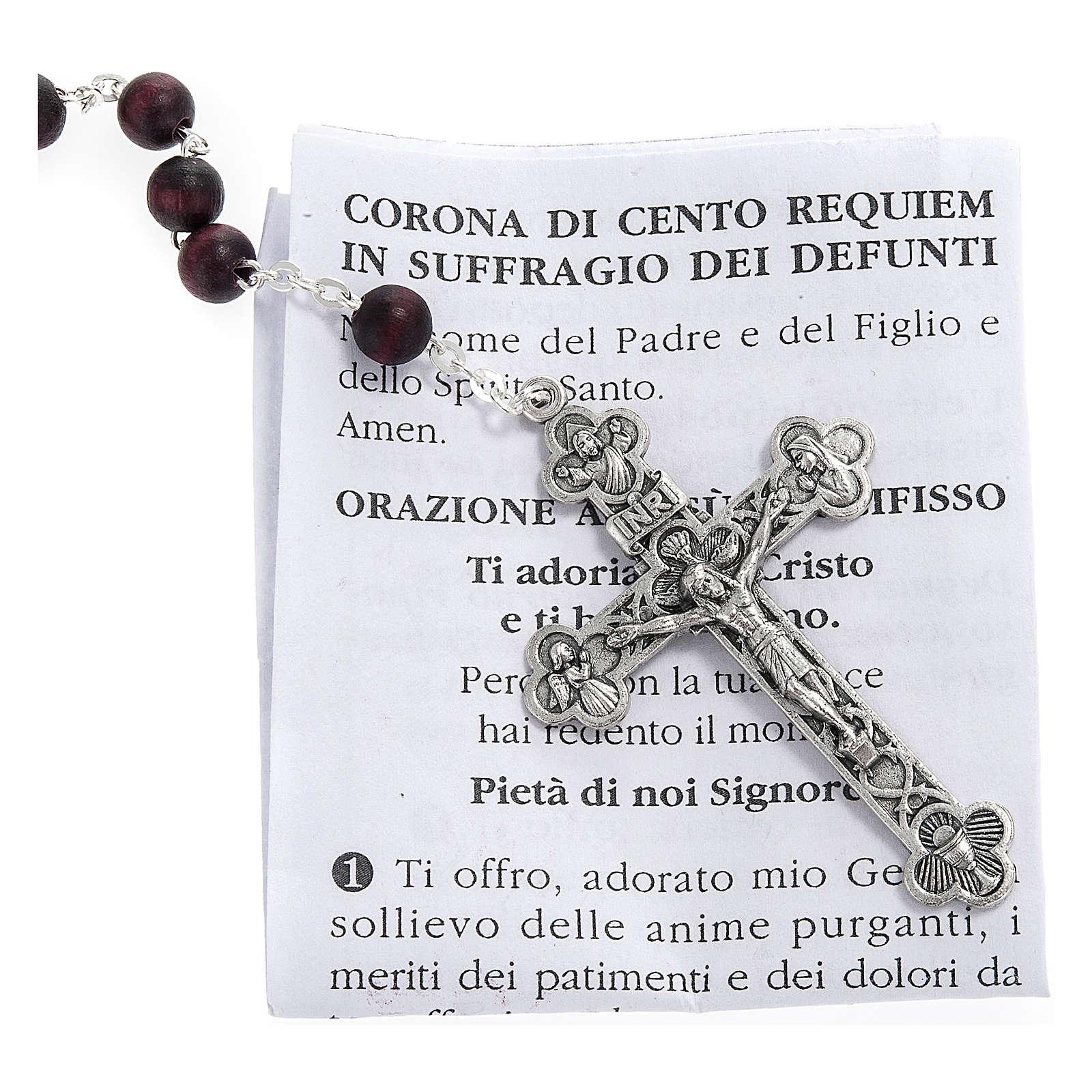 Różaniec oddania 100 Requiem (100 Wieczny odpoczynek) za dusze zmarłych 4
