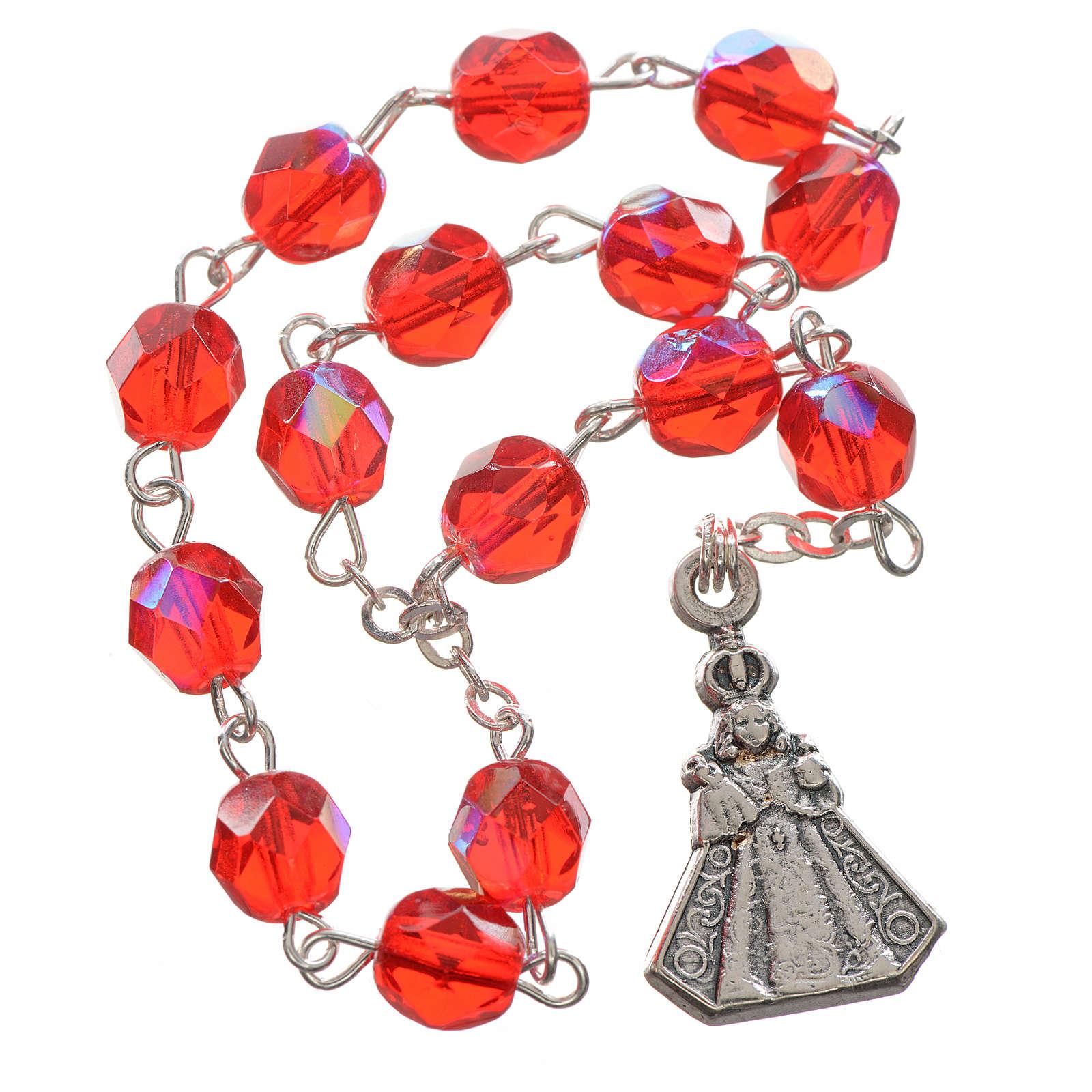 Baby Jesus of Prague rosary beads 4