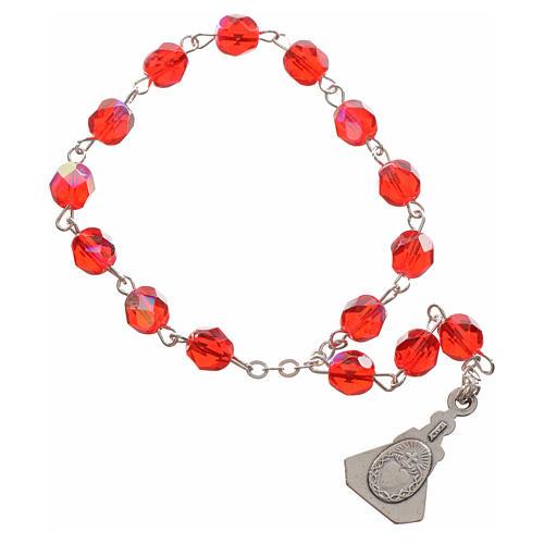Baby Jesus of Prague rosary beads 2