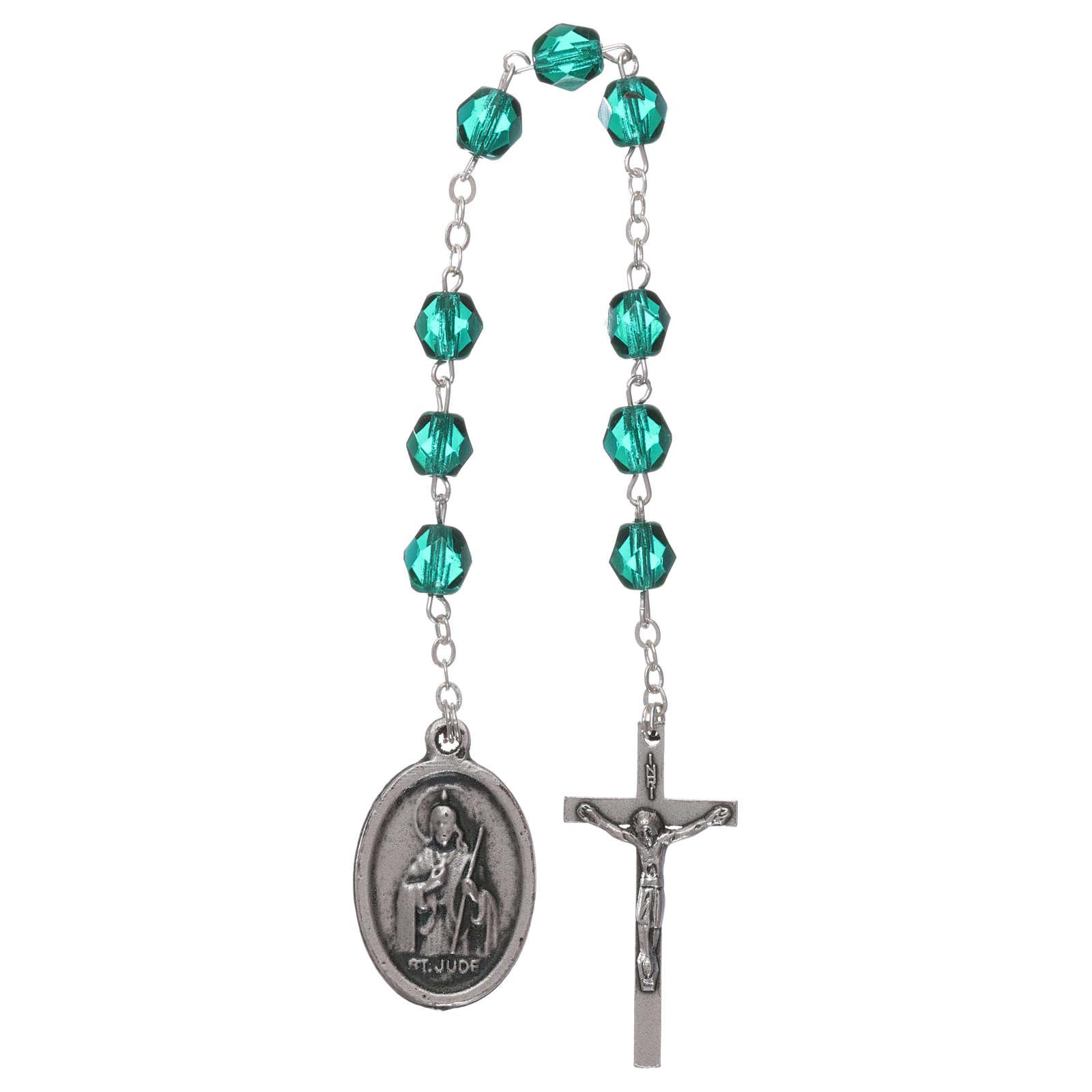 Saint Jude Thaddaeus rosary beads 4