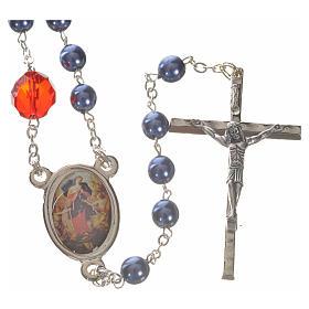 Rosenkranz der Madonna, die die Knoten löst - blau s1