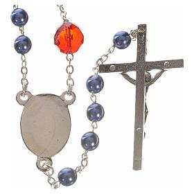 Rosenkranz der Madonna, die die Knoten löst - blau s2