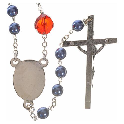 Rosenkranz der Madonna, die die Knoten löst - blau 2