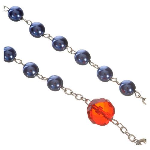 Rosenkranz der Madonna, die die Knoten löst - blau 3