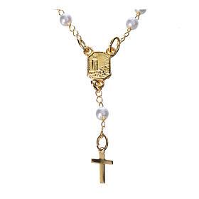 Corona devozionale collana Madonna di Fatima similperla s2