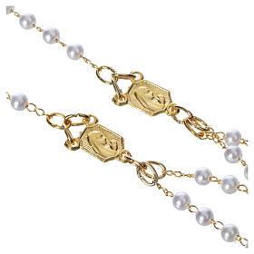 Corona devozionale collana Madonna di Fatima similperla s4