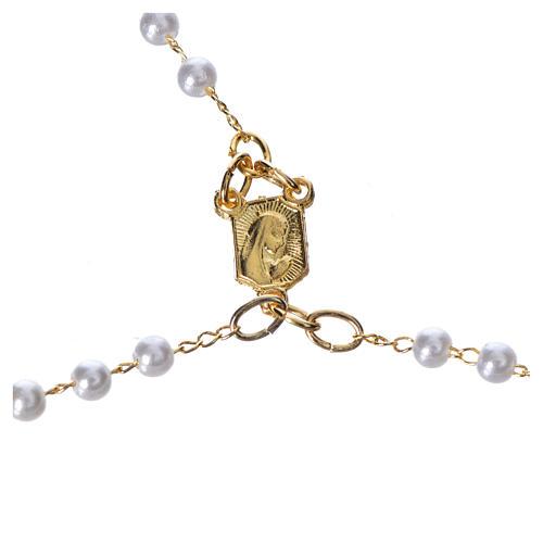 Corona devozionale collana Madonna di Fatima similperla 3