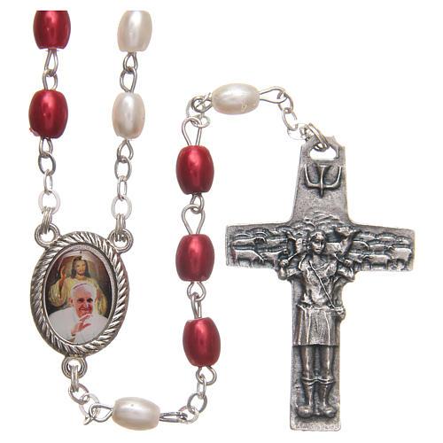 Rosario del Papa Francisco PVC 8 mm 1