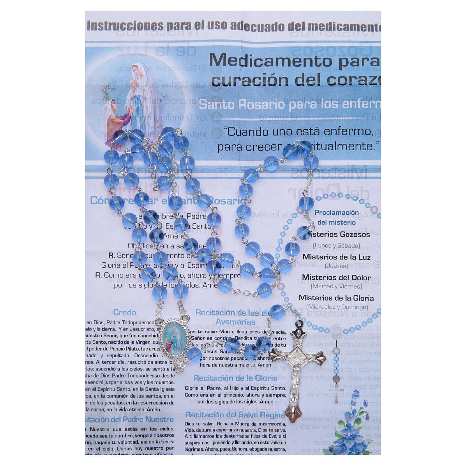 Rosario Infermiera dell'Anima Madonna di Lourdes SPAGNOLO 4