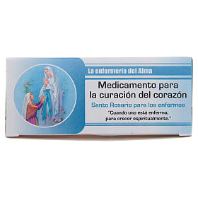 Rosario Infermiera dell'Anima Madonna di Lourdes SPAGNOLO s1