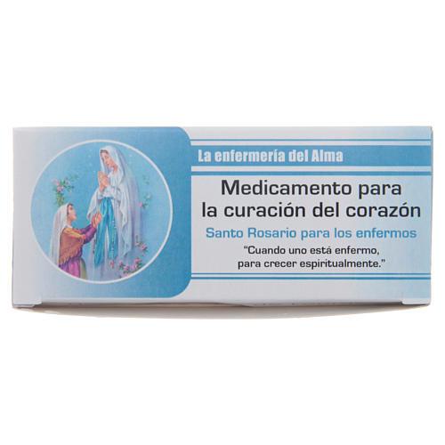 Rosario Infermiera dell'Anima Madonna di Lourdes SPAGNOLO 6