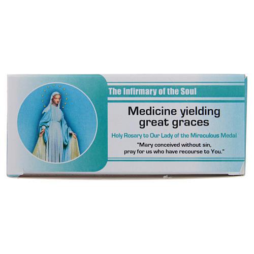 """Rosario """"La enfermería del Alma"""" Virgen de la Medalla Milagrosa INGLÉS"""