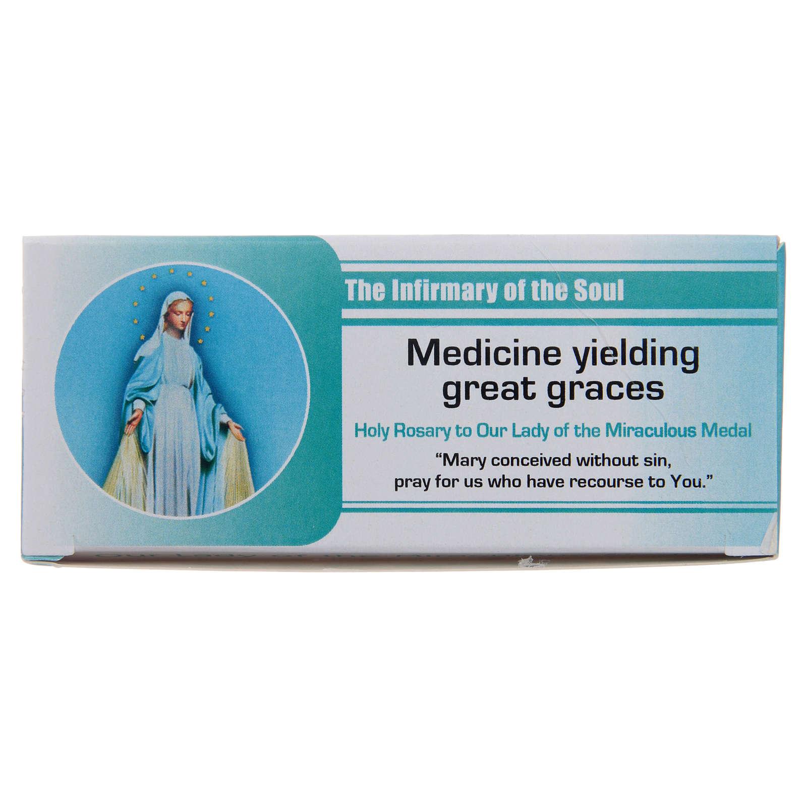 Rosario Infermiera dell'Anima Madonna Miracolosa INGLESE 4