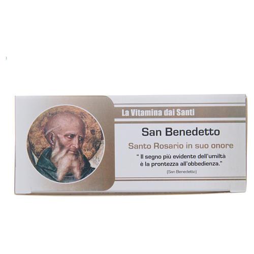 Rosario Vitamina dei Santi San Benedetto ITALIANO 1