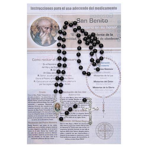 Rosario Vitamina dei Santi San Benedetto SPAGNOLO 2