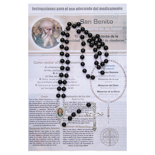 Rosary Vitamin of the Saints Saint Benedict SPANISH 2