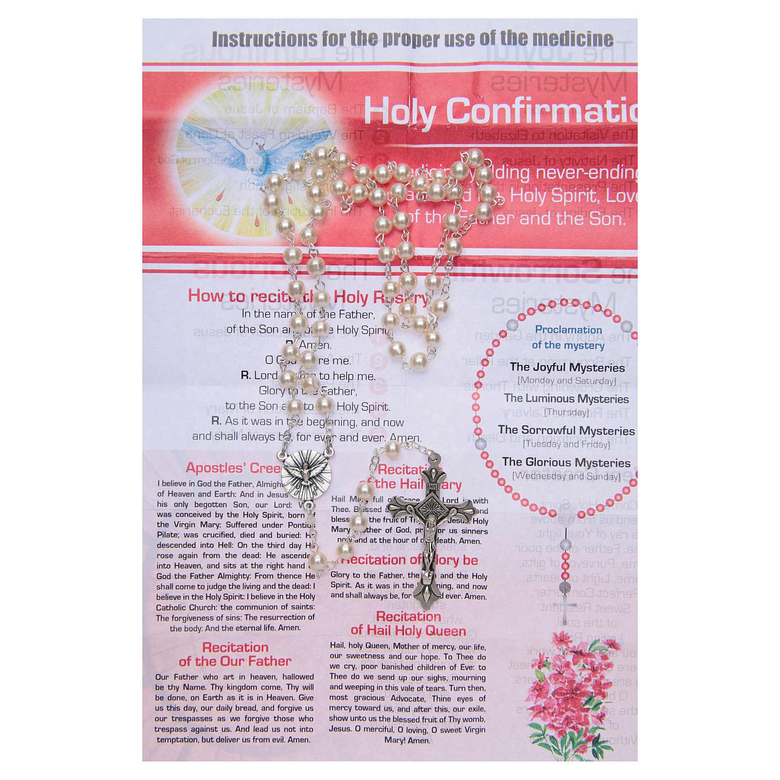 Różaniec Sakramenty Życie Codzienne do Bierzmowania ANGIELSKI 4