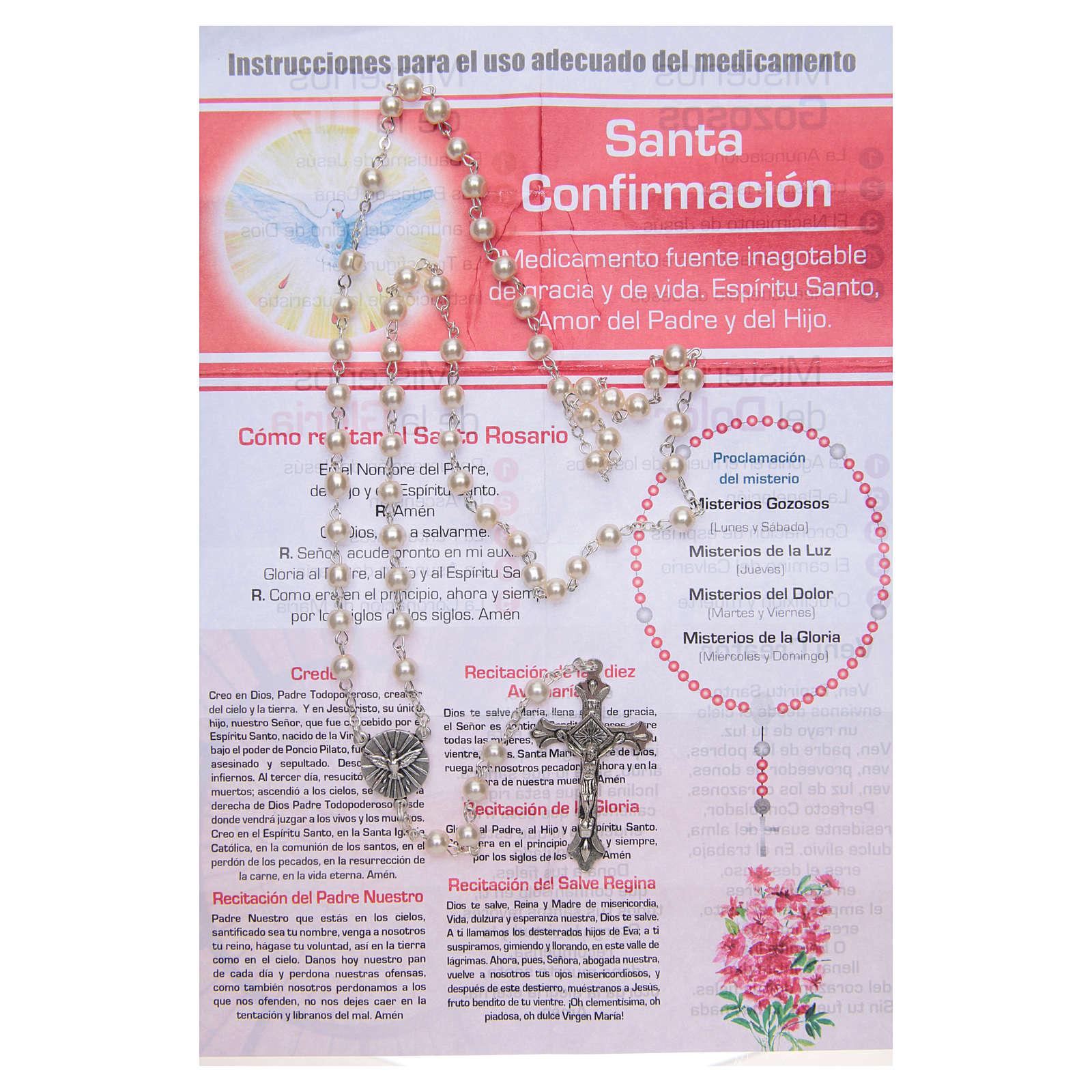 Różaniec Sakramenty Życie Codzienne do Bierzmowania HISZPAŃSKI 4