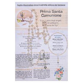 Rosary Sacraments of the Christian life Holy Communion ITALIAN s2