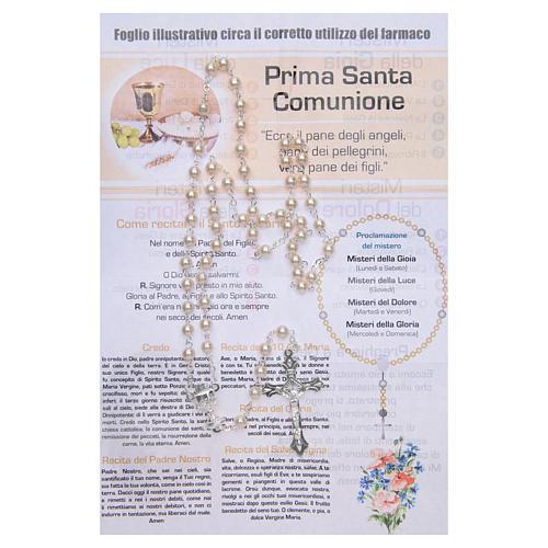 Rosary Sacraments of the Christian life Holy Communion ITALIAN 2