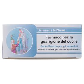 Różaniec Pielęgniarka Duszy Madonna z Lourdes WŁOSKI s1