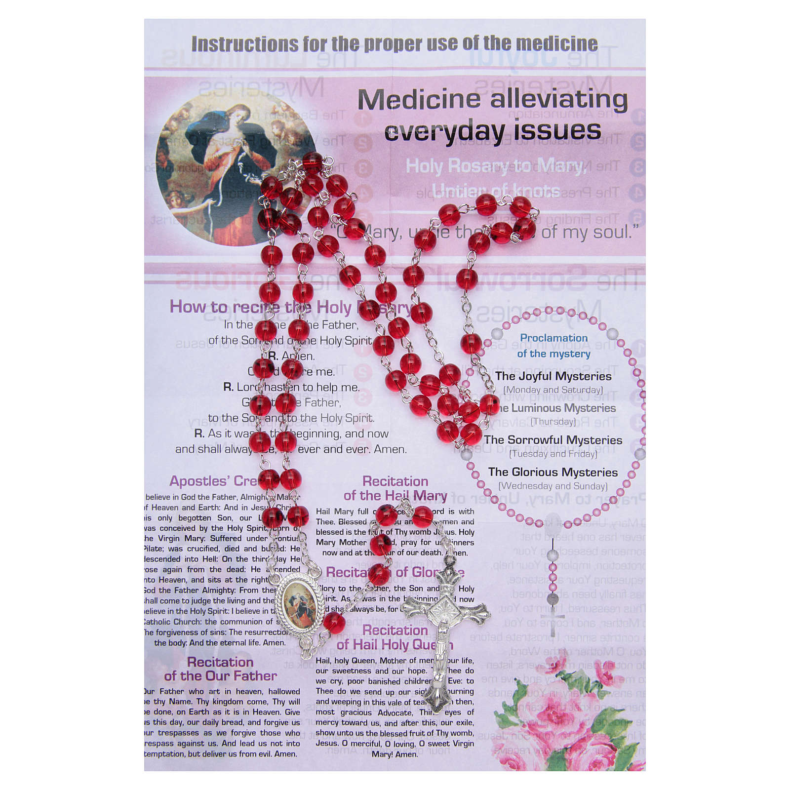 Rosary Nurse of the Soul Mary untire of knots ENGLISH 4
