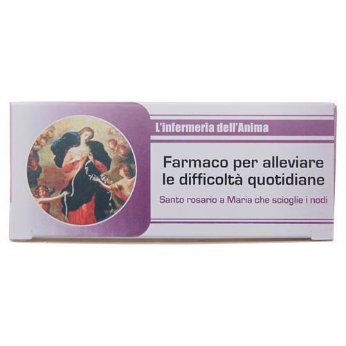 Rosary Nurse of the Soul Mary untire of knots ITALIAN 1