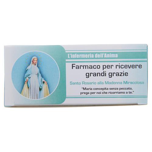 """Rosario """"La enfermería del Alma"""" Virgen de la Medalla Milagrosa ITALIANO"""
