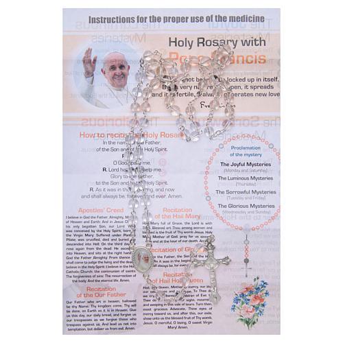 Chapelet Infirmière de l'Âme Pape François ANG 2