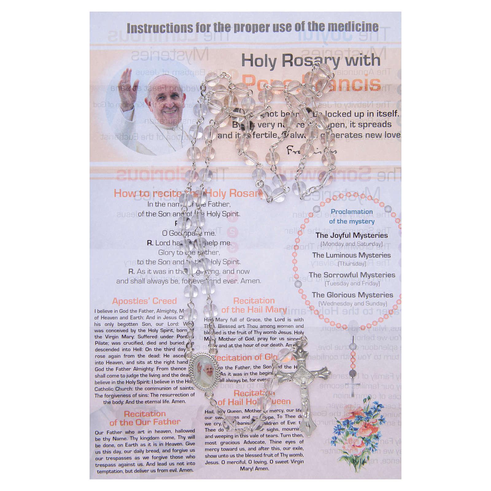 Terço Enfermaria da Alma Papa Francisco INGLÊS 4