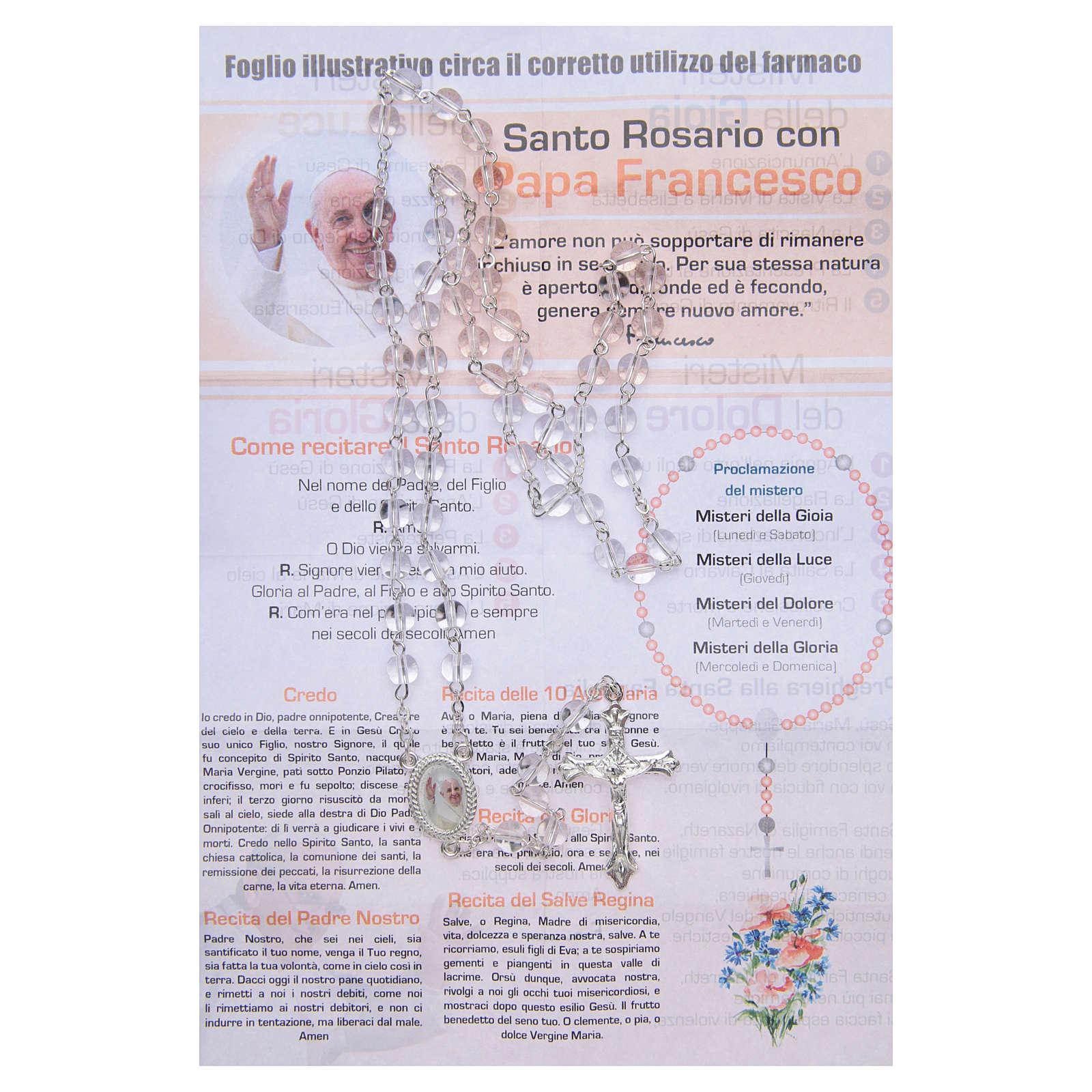 Chapelet Infirmière de l'Âme Pape François ITA 4