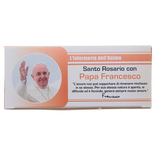 Różaniec Pielęgniarka Duszy Papież Franciszek WŁOSKI 1