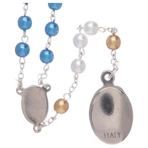 Rosary pearl-like beads, Fatima centennial 3
