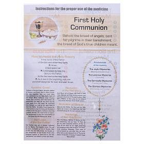 Rosario Sacramenti della Vita Cristiana Comunione INGLESE s5
